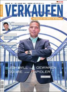 """Cover der Zeitschrift """"Verkaufen"""""""